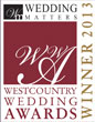 Westcountry Wedding Awards Winner 2013